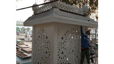 Hyderabad: Padma Bhushan Ustad Bade Ghulam Ali Khan's tomb being restored