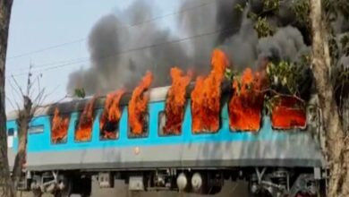 Fire breaks out in Shatabdi Express in Uttarakhand