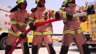 UAE firefighters among highest paid in the world