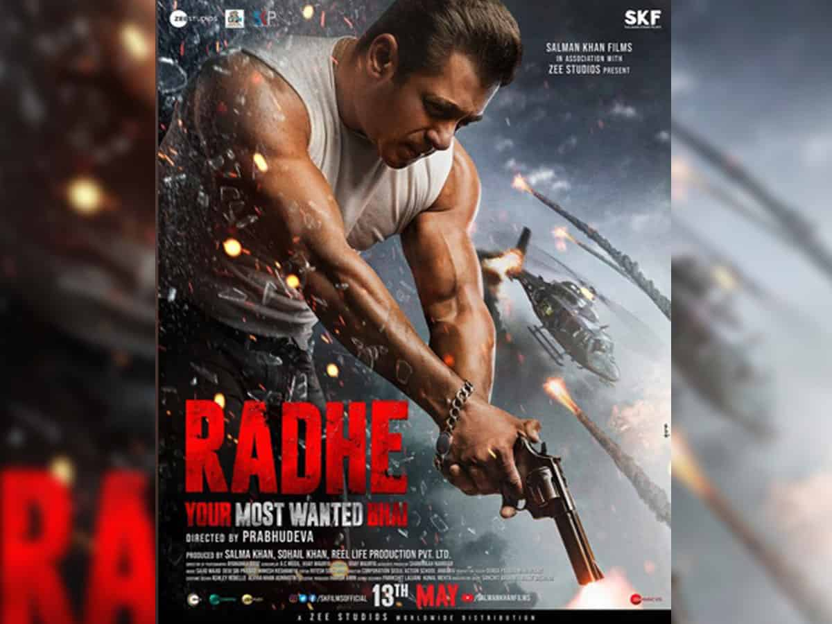 Salman Khan's Radhe to hit screens on Eid 2021 – The Siasat Daily