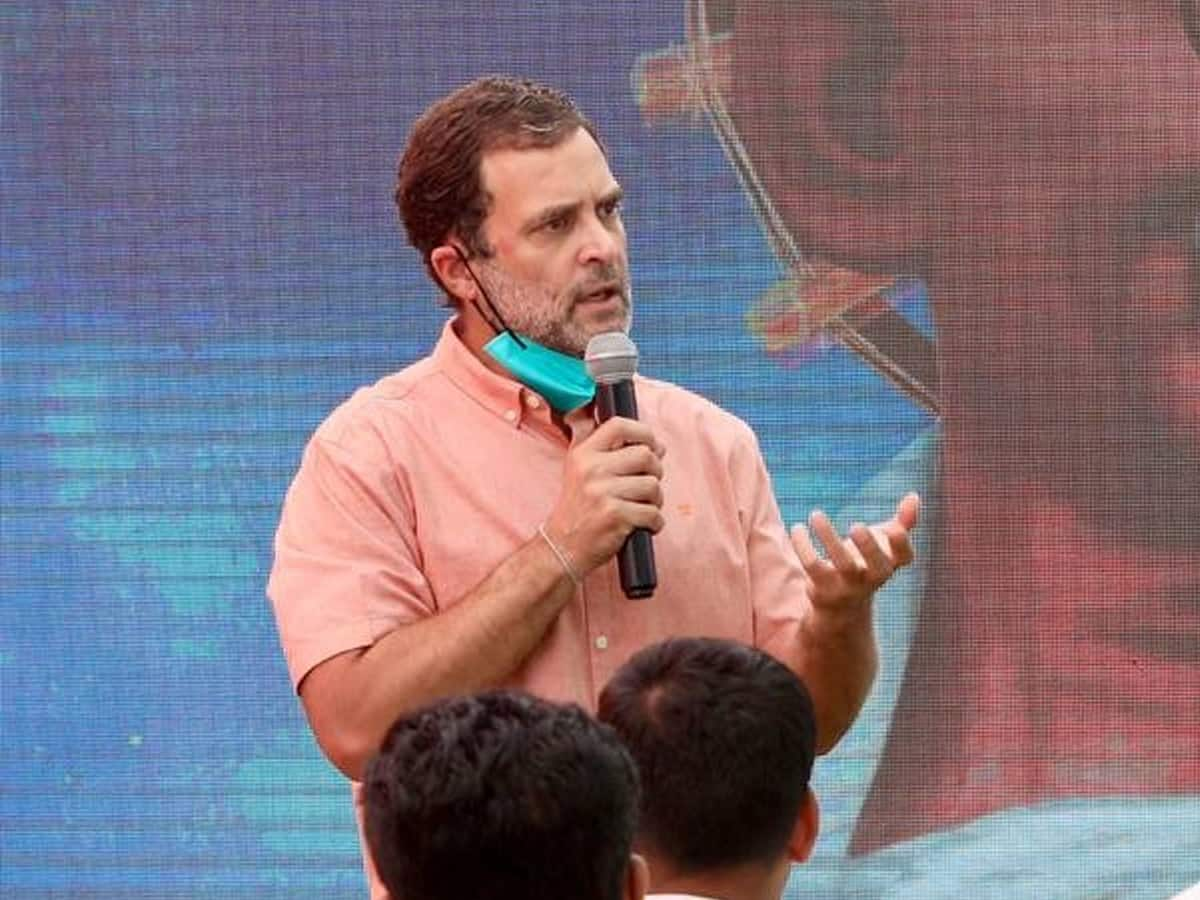 'Saddam Hussein, Gaddafi won elections too': Rahul Gandhi takes jibe at Modi