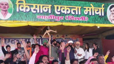 SKM announces 5-hr blockade at KMP expressway on 100th day of protest