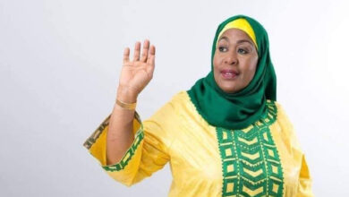 Samia Suluhu Hassan becomes Tanzania's 1st female president