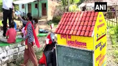 Teacher runs mobile school on scooty for rural children in MP's Sagar