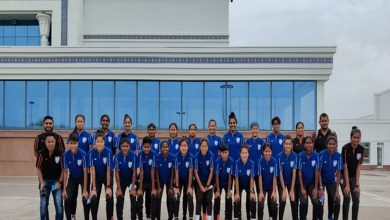 Aiming to build leaders, Indian women's team lands in Uzbekistan