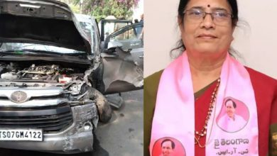 MLC Vani Devi's car rams into assembly gate; security officer suspended