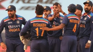 Third ODI: India beat England by 7 runs to win series