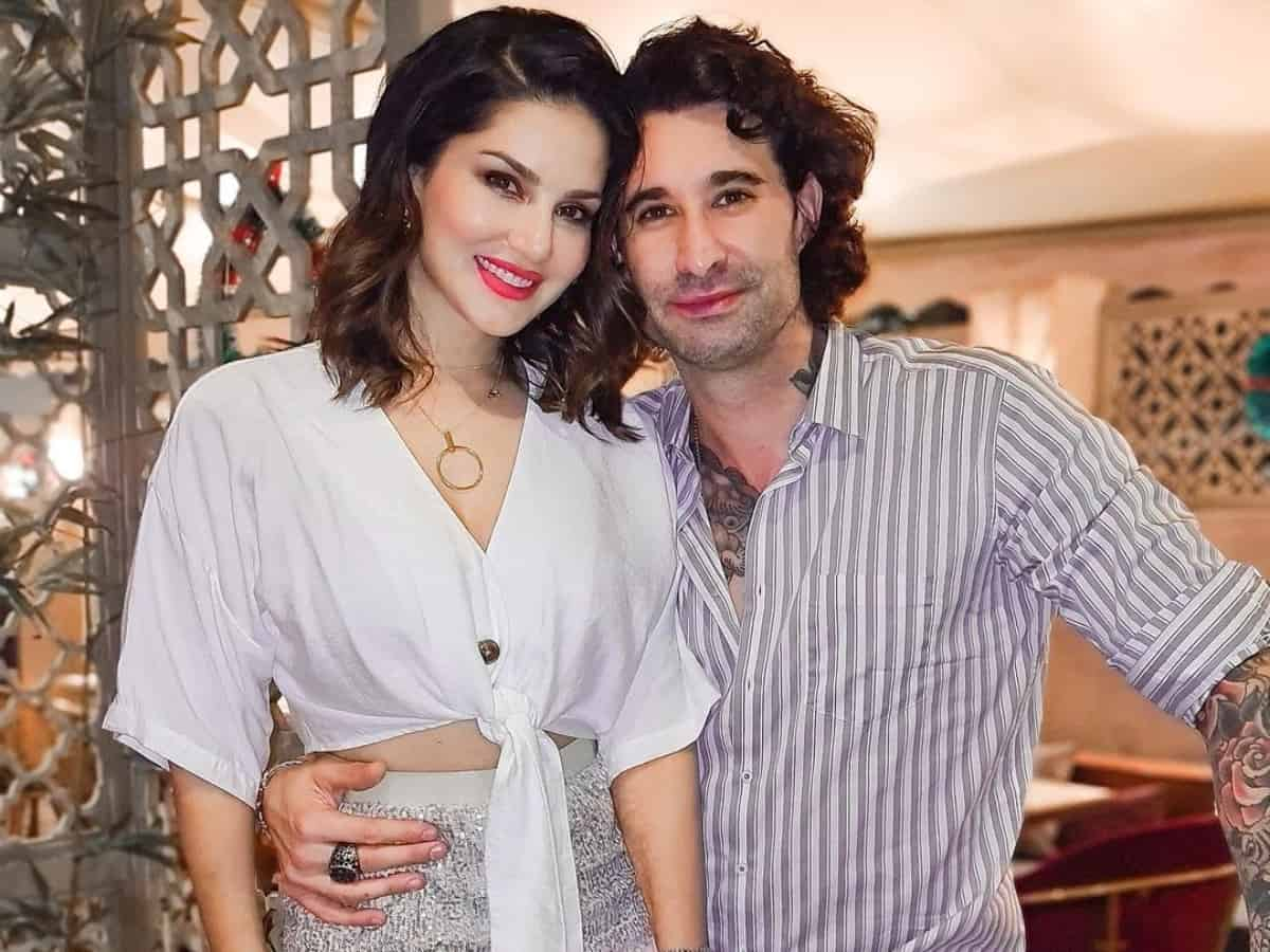 Sunny Leone's husband Daniel helps woman on street to change tyre, video wins hearts
