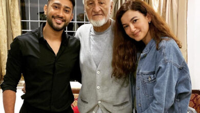 'My Pappa Strongest', writes Gauhar Khan as her father gets hospitalized