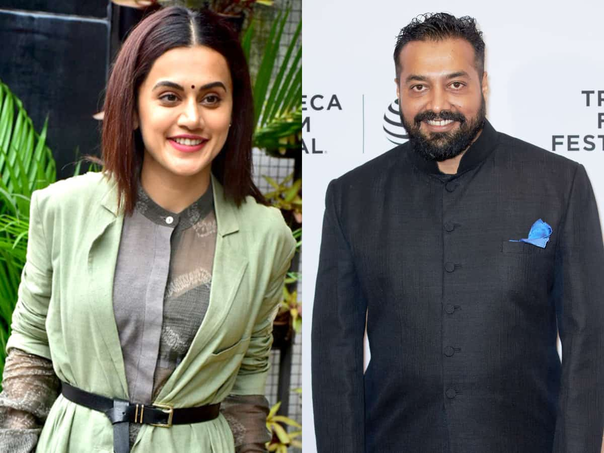 IT dept raids Taapsee Pannu and Anurag Kashyap's houses in Mumbai
