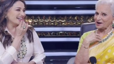 Watch: Waheeda Rehman, Madhuri Dixit recreating 60's magic is unmissable!