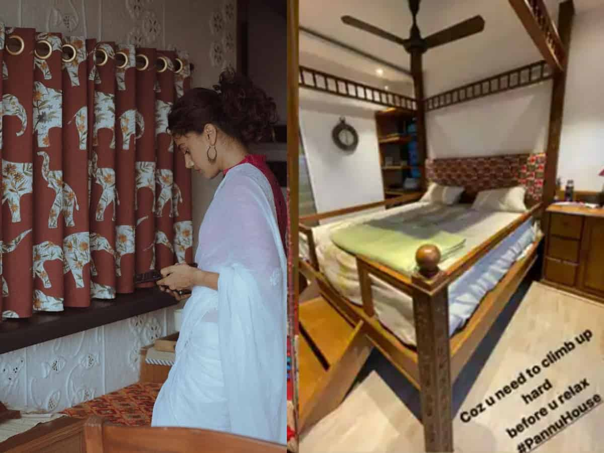 Step inside Taapsee Pannu's new 'vintage' home in Mumbai
