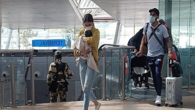 Anushka, Virat get papped with daughter Vamika for first time; video goes viral