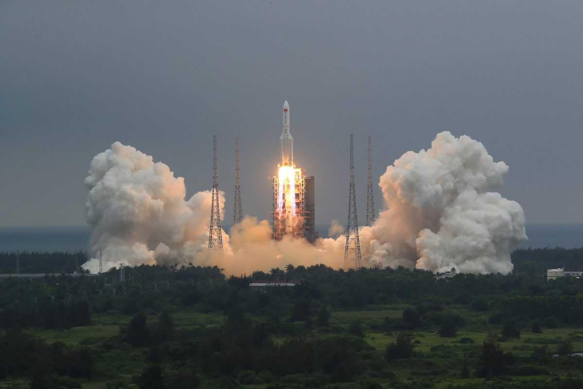 Debris of China's uncontrolled rocket disintegrates over Indian Ocean