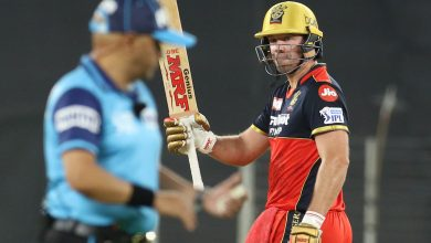 IPL 2021: ABD's 75-run knock helps RCB score 171/5 against DC