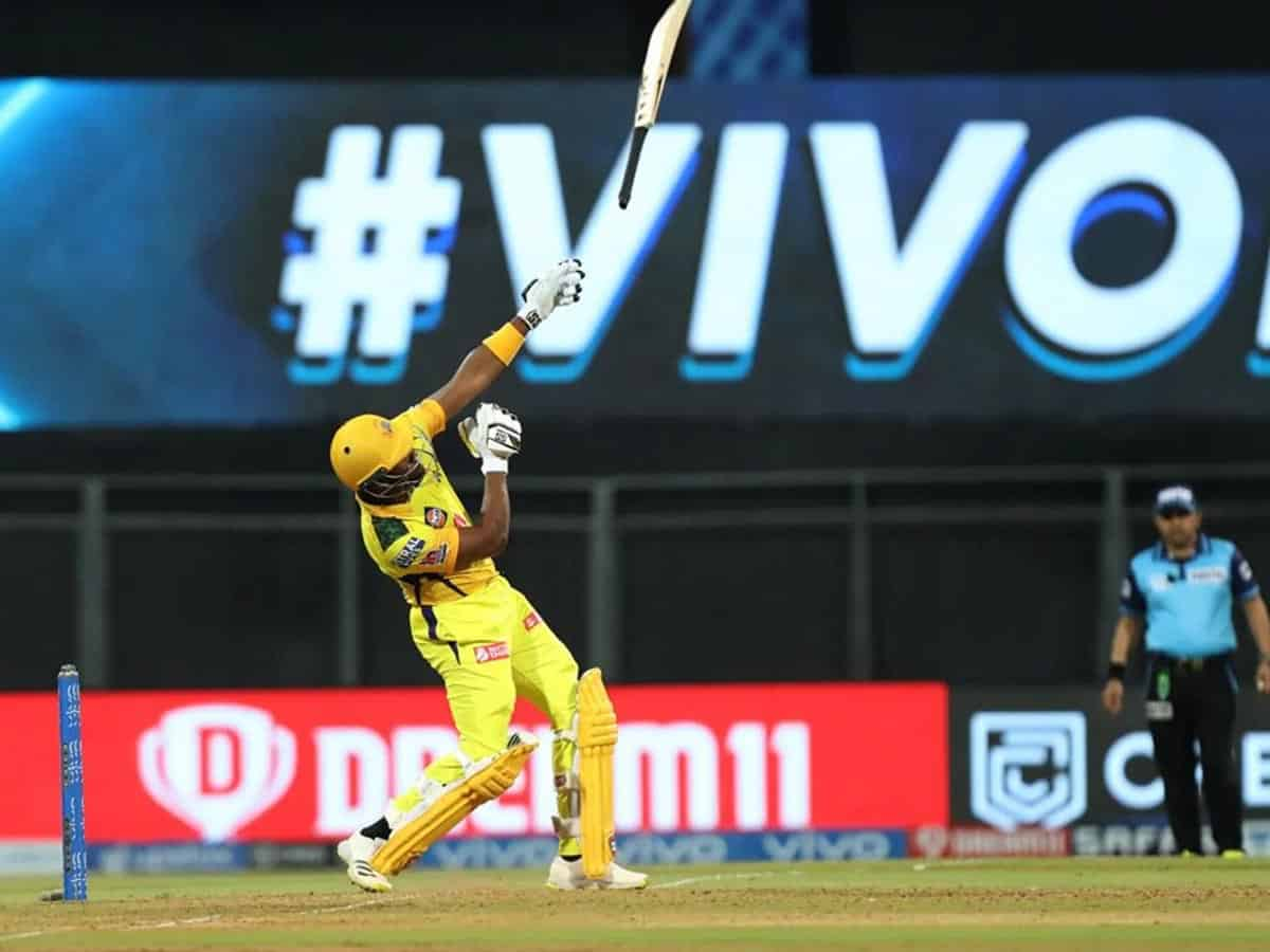 IPL 2021: Bravo's cameo lifts CSK, Rajasthan Royals need 189 to win