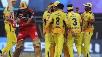 IPL 2021: Jadeja leads with bat and ball as CSK beat RCB by 69 runs
