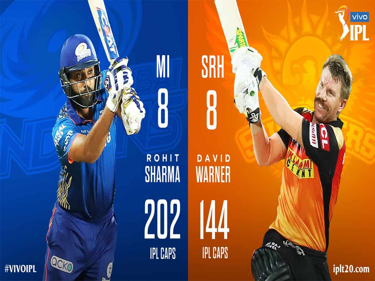 IPL 2021: Mumbai Indians win toss, opt to bat against SRH