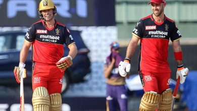 IPL 2021: Maxwell, ABD masterclass propel RCB to 204/4 against KKR