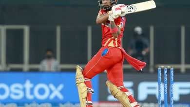 IPL 2021: Rahul's unbeaten 91 takes PK to 179/5 vs RCB