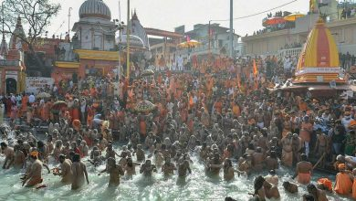 Haridwar all set for second royal bath of Maha Kumbh on Monday