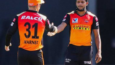 IPL 2021: SRH pacer Natarajan ruled out of tournament