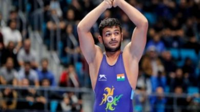 Deepak Punia settles for silver at Asian Championships