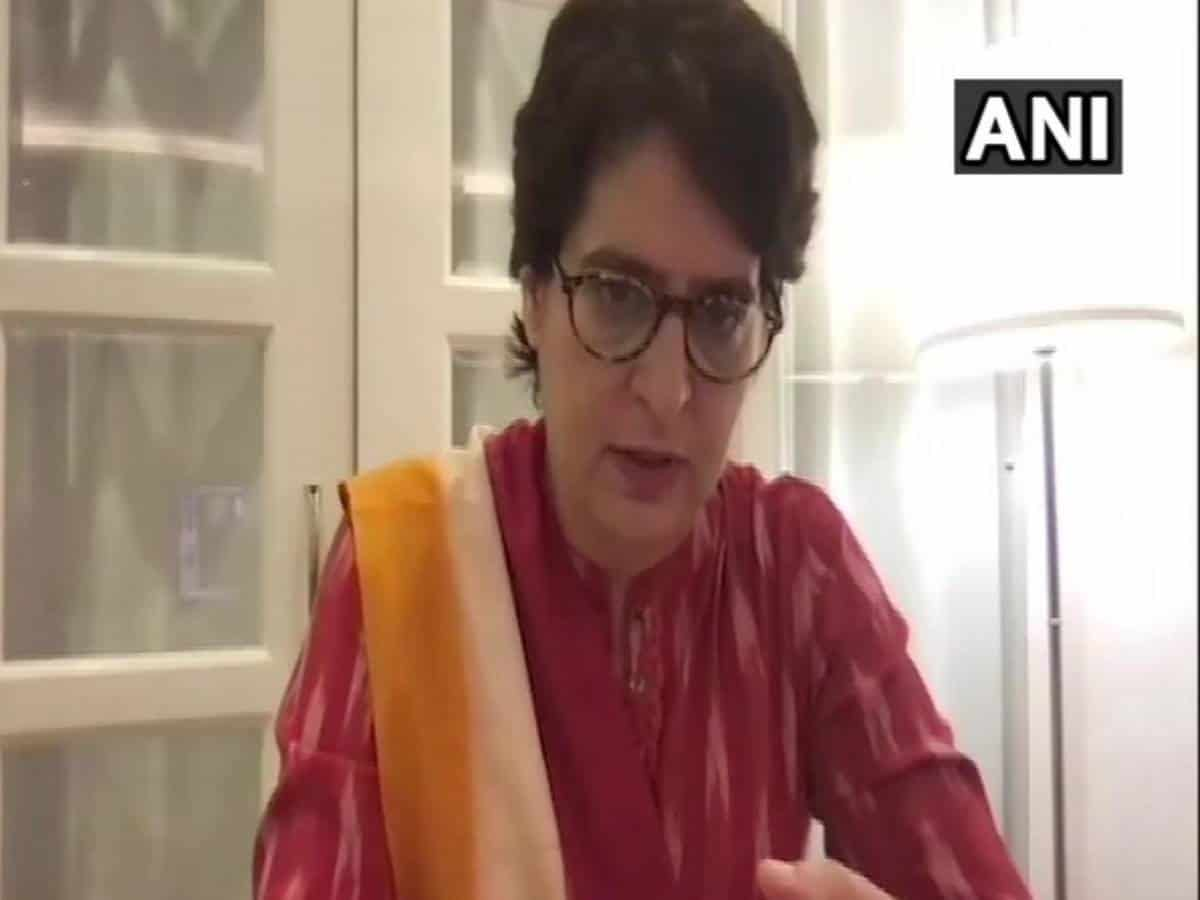 'People are crying for medicines, oxygen but they are laughing during rallies', says Priyanka Gandhi Vadra