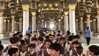 Children not allowed to enter Masjid Nabawi in Madinah during Ramadan