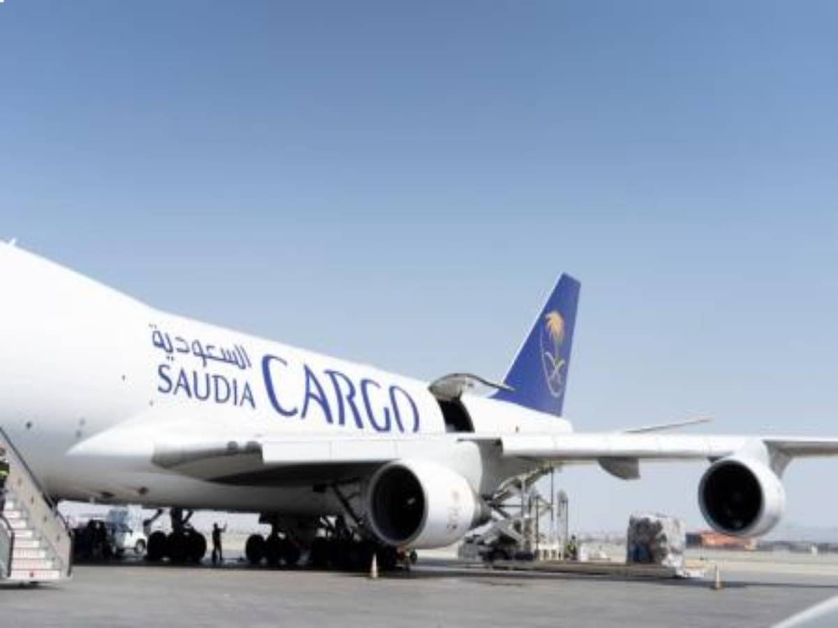 Saudi cargo joins UNICEF's mission to support global delivery of COVID-19 vaccines