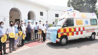 Nitin Gadkari flags off 90 basic care ambulances for states, UTs