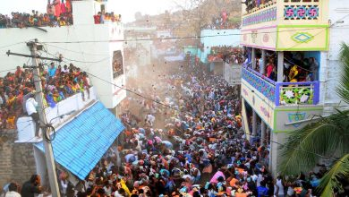 AP: Huge crowds attend 'cow dung' fight in Kurnool amid COVID cases surge