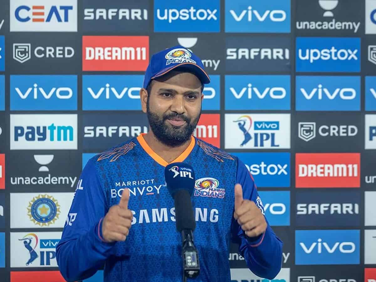 Rohit Sharma fined Rs 12L for MI's slow over rate vs DC