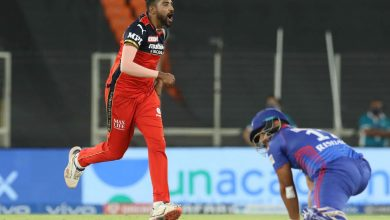 IPL 2021: Siraj's execution at death helps RCB beat DC
