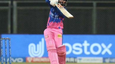 IPL 2021: Dube, Tewatia steer Rajasthan to 177/9 against RCB