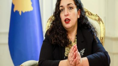 Vjosa Osmani is a Kosovar Albanian jurist and politician serving as the 5th president of Kosovo since 4 April 2021.