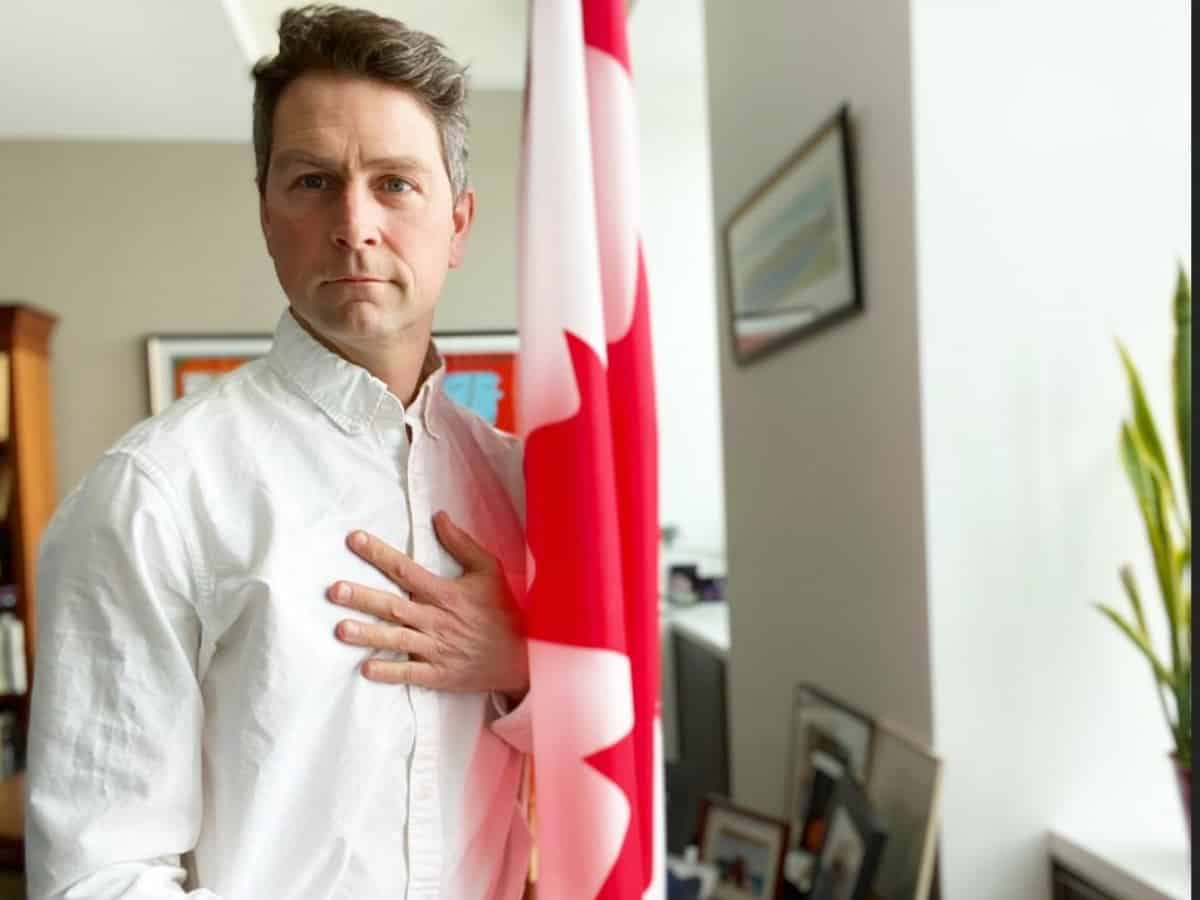 Canadian politician caught on camera peeing during virtual