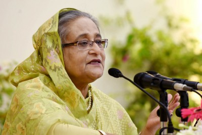 'You're playing with fire': Hasina warns Hefazat, slams anti-Modi protests