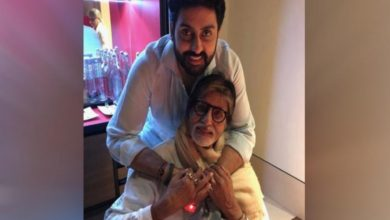 'Pride of a father': Big B celebrates Abhishek's 'The Big Bull' success