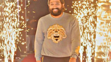 Allu Arjun celebrates his 38th birthday in Hyderabad with Pushpa team [PICTURES]
