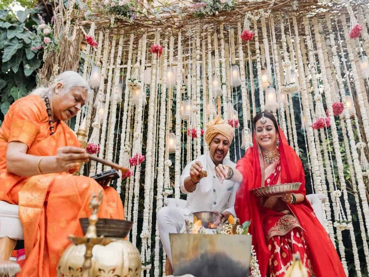 Inside Dia Mirza's 'earthy' and 'zero wastage' wedding [VIDEO]