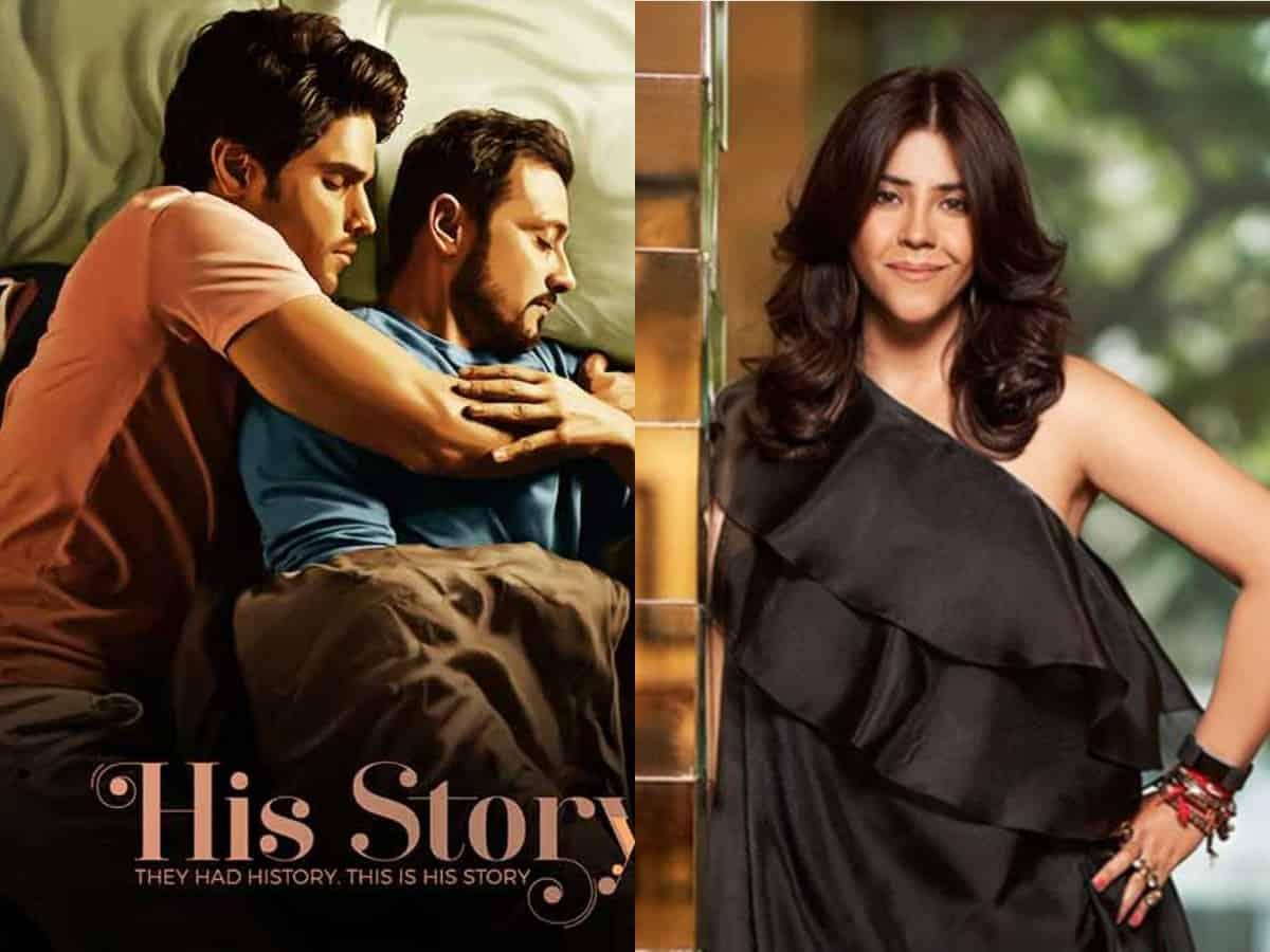 Ekta Kapoor's 'His Storyy' poster falls into controversy