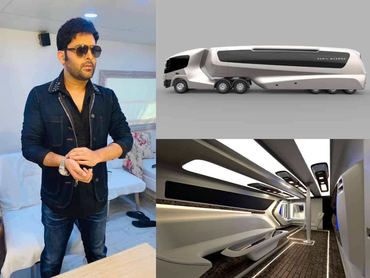 '5-star hotel room on wheels': Inside Kapil Sharma's swanky vanity van