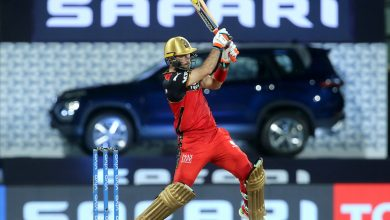 RCB score 149/8 as Maxwell hits 59