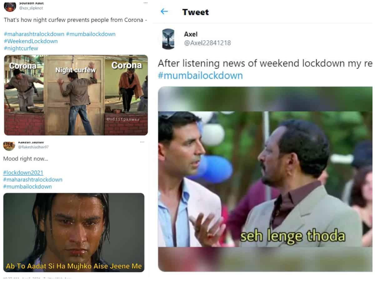 Meme Fest On Twitter As Mumbai Enters Partial Lockdown