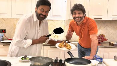 Here's story behind this Nagarjuna's viral picture with Chiranjeevi