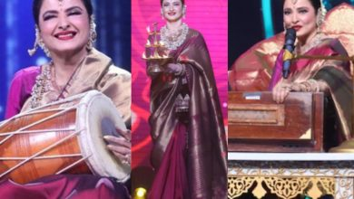 'Goddess, Apsara': Twitterati is mesmerized with Rekha's presence on Indian Idol 12
