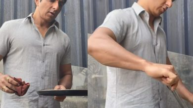 Viral video: Sonu Sood makes dosas on Acharya sets in Hyderabad
