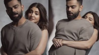 Anushka Sharma tries to lift hubby Virat Kohli, goofy video goes viral