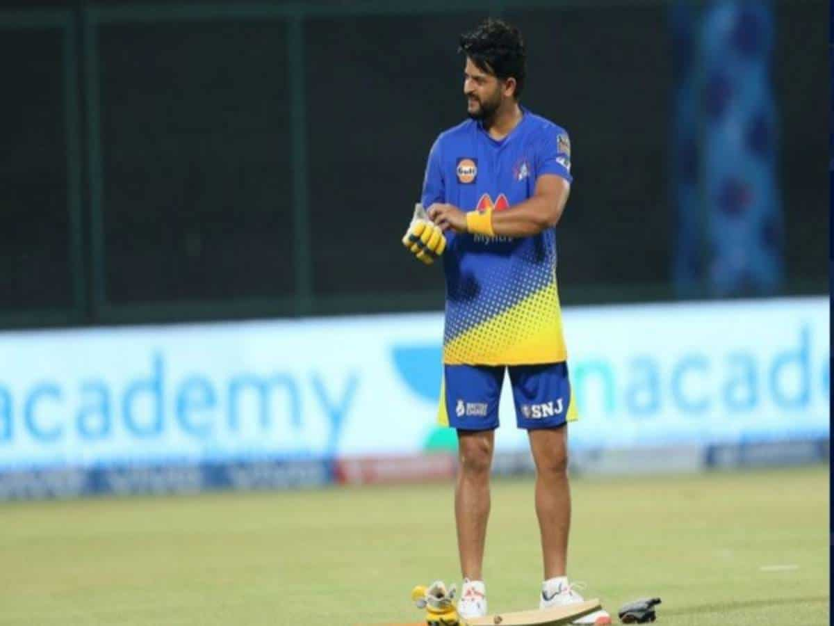IPL 2021: Raina becomes fourth player to play 200 games